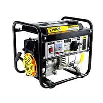 Gerador A Gasolina Zmax ZG1200GM1 2.5Hp 0.9KVA Monofásico 4T 127V -