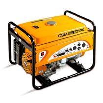 Gerador de Energia à Gasolina 6 KVA 4 Tempos Partida Elétrica Bivolt 110/220V GM5500E CSM -