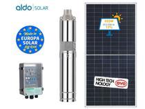 Gerador De Energia Bomba Solar Solo Aldo Solar Geb 670w Byd Poli Half Cell Zm Taifu 1050l/H 20m - Zmbombas