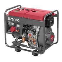 d13afdf63 Gerador De Energia Branco BD8000E3 A Diesel 220V 8Kva Partida Elétrica -