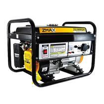 Gerador De Energia Gasolina Zmax ZG2800GM Monofásico 6.5Hp Bivolt -