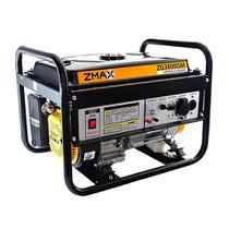 Gerador De Energia Gasolina Zmax ZG3800GM 6.5Hp Monofásico Bivolt -