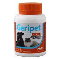Geripet 30 Comprimidos Suplemento Animais Idosos - Vetnil -