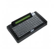 Gertec tec-e65 teclado programavel 65 teclas display ps2 preto -