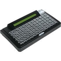 Gertec tec65 teclado programavel 65 teclas display ps2 cinza -