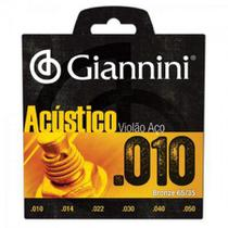 "Geswam-encord. p/violao bronze 65/35 0.010"" - Giannini"
