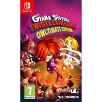 Giana Sisters Twisted Dreams Nintendo Switch Midia Fisica -