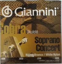 Giannini - Encordoamento Cobra Para Ukulele Concert .028/.028 GEUKSC -