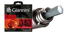 "Giannini Encordoamento p/ Baixo Leve 0.040"" GEEBRL -"