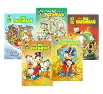 Gibi Tio Patinhas Disney Culturama Coletânea 5 Volumes -