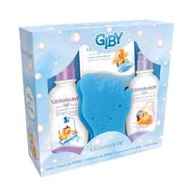 Giby A Hora Do Banho Azul Shampoo + Condicionador 200ml + Sabonete 80g - Giovanna Baby