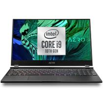 Gigabyte Aero 15 (Laptop Gamer) i9-10980HK tela 15' UHD 4K Nvidia RTX 3080 SSD 1Tb NVMe RAM 32Gb -