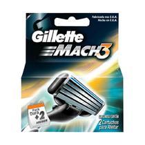 Gillette carga para aparelho mach3 c/2 -