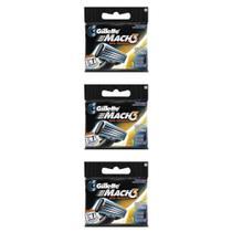Gillette Mach3 Carga Regular C/1 (Kit C/03) -