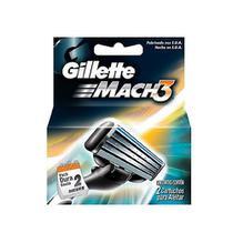 Gillette Mach3 Carga Regular C/2 - Gillete
