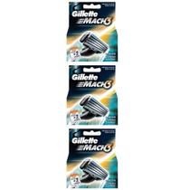 Gillette Mach3 Carga Regular C/2 (Kit C/03)