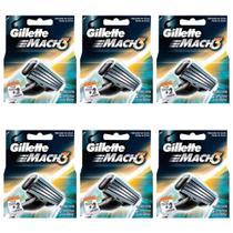 Gillette Mach3 Carga Regular C/2 (Kit C/06) -