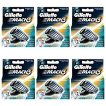 Gillette Mach3 Carga Regular C/2 (Kit C/12) -