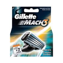 Gillette Mach3 Carga Regular C/2