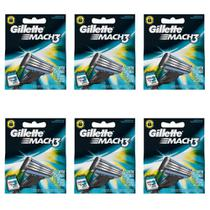Gillette Mach3 Carga Regular C/3 (Kit C/06)