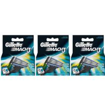 Gillette Mach3 Carga Regular C/4 (Kit C/03) -