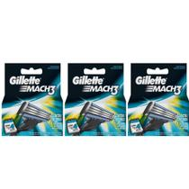 Gillette Mach3 Carga Regular C/4 (Kit C/03)