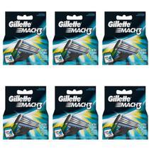 Gillette Mach3 Carga Regular C/4 (Kit C/06) -