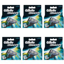 Gillette Mach3 Carga Regular C/4 (Kit C/06)
