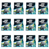 Gillette Mach3 Carga Regular C/4 (Kit C/12) -