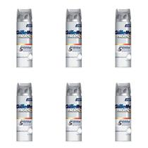 Gillette Mach3 Refresh Espuma De Barbear 245g (Kit C/06) -