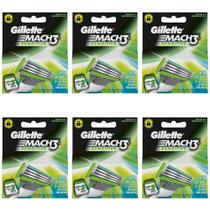Gillette Mach3 Sensitive Carga C/3 (Kit C/06)