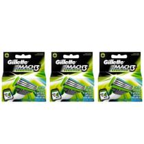 Gillette Mach3 Sensitive Carga C/4 (Kit C/03) -
