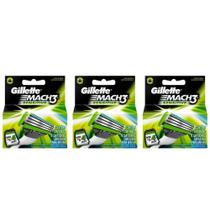 Gillette Mach3 Sensitive Carga C/4 (Kit C/03)