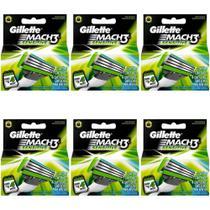Gillette Mach3 Sensitive Carga C/4 (Kit C/06) -