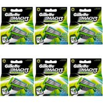 Gillette Mach3 Sensitive Carga C/4 (Kit C/06)