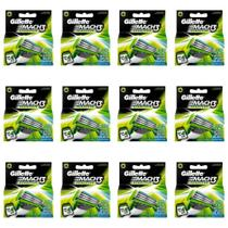 Gillette Mach3 Sensitive Carga C/4 (Kit C/12) -