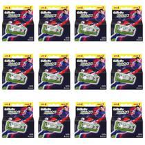 Gillette Mach3 Sensitive Carga Futebol C/4 (Kit C/12) -