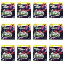 Gillette Mach3 Sensitive Carga Futebol C/4 (Kit C/12) -