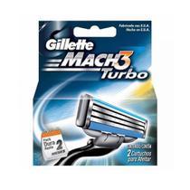 Gillette Mach3 Turbo Carga C/2 -