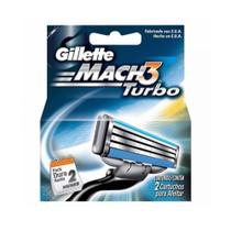 Gillette Mach3 Turbo Carga C/2