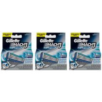 Gillette Mach3 Turbo Carga C/4 (Kit C/03)