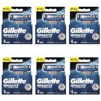 Gillette Mach3 Turbo Carga C/4 (Kit C/06) -
