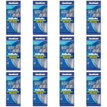 Gillette Prestobarba Ultragrip Aparelho De Barbear C/5 (Kit C/12) -
