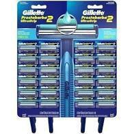 Gillette Prestobarba UltraGrip Cabeça Fixa Cartela C/24 -
