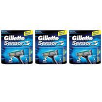 Gillette Sensor 3 Carga C/4 (Kit C/03) -