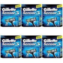 Gillette Sensor 3 Carga C/4 (Kit C/06) -