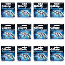 Gillette Sensor Excel Carga C/2 (Kit C/12) -