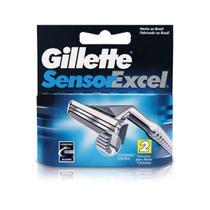Gillette Sensor Excel Carga C/2 -