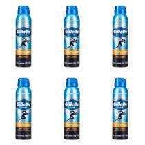 Gillette Sport Triumph Desodorante Aerosol Jato Seco 150ml (Kit C/06) -