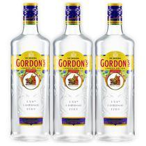Gin Gordons 750ml 03 Unidades -